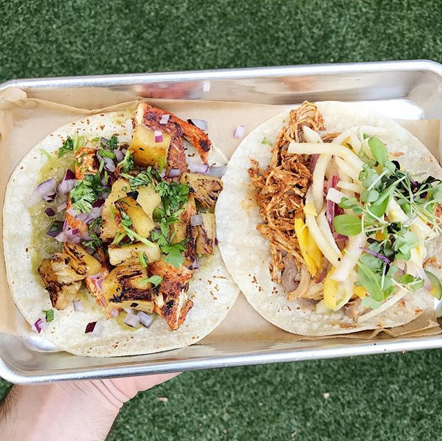 Happy National Taco Day! Show this post for 2$ chicken pastor, pibil, or mushroom tacos!