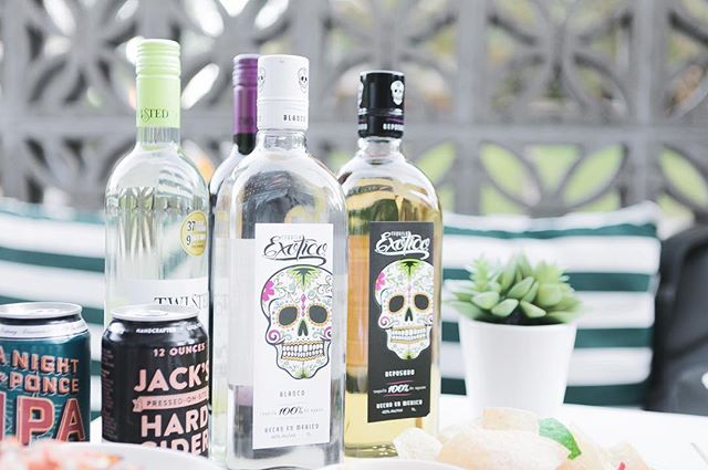 Finally Friday! Cheers to the weekend.  Relax with a @exoticotequila margarita or #Wine about it!