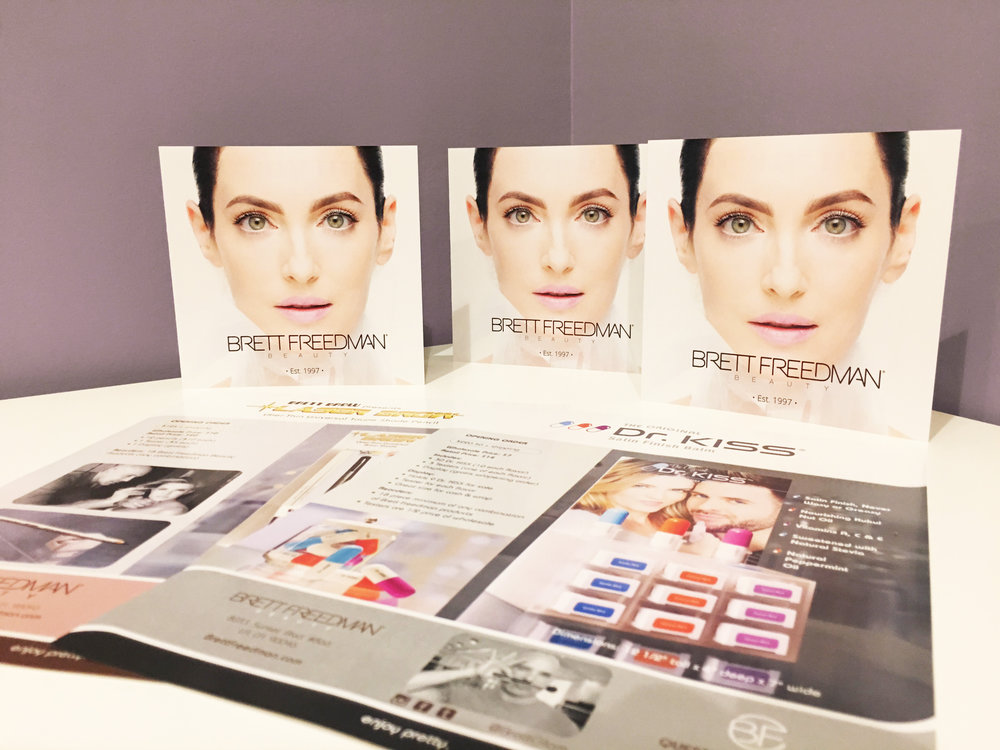 Brett Freedman Beauty: Marketing