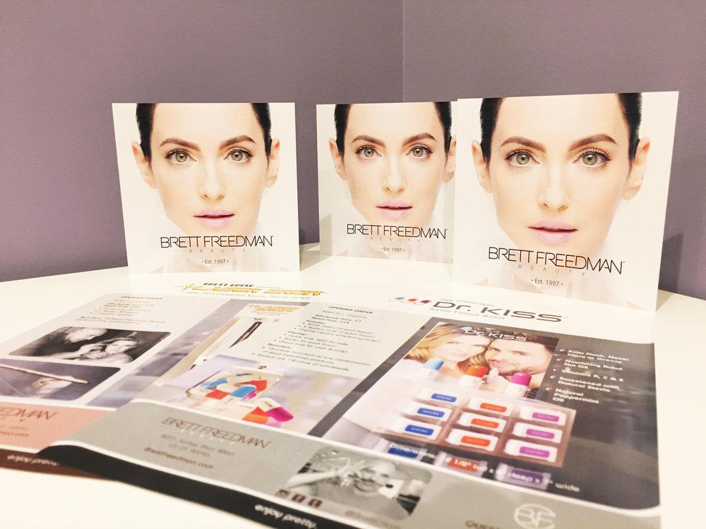 Brett Freedman Beauty: Marketing
