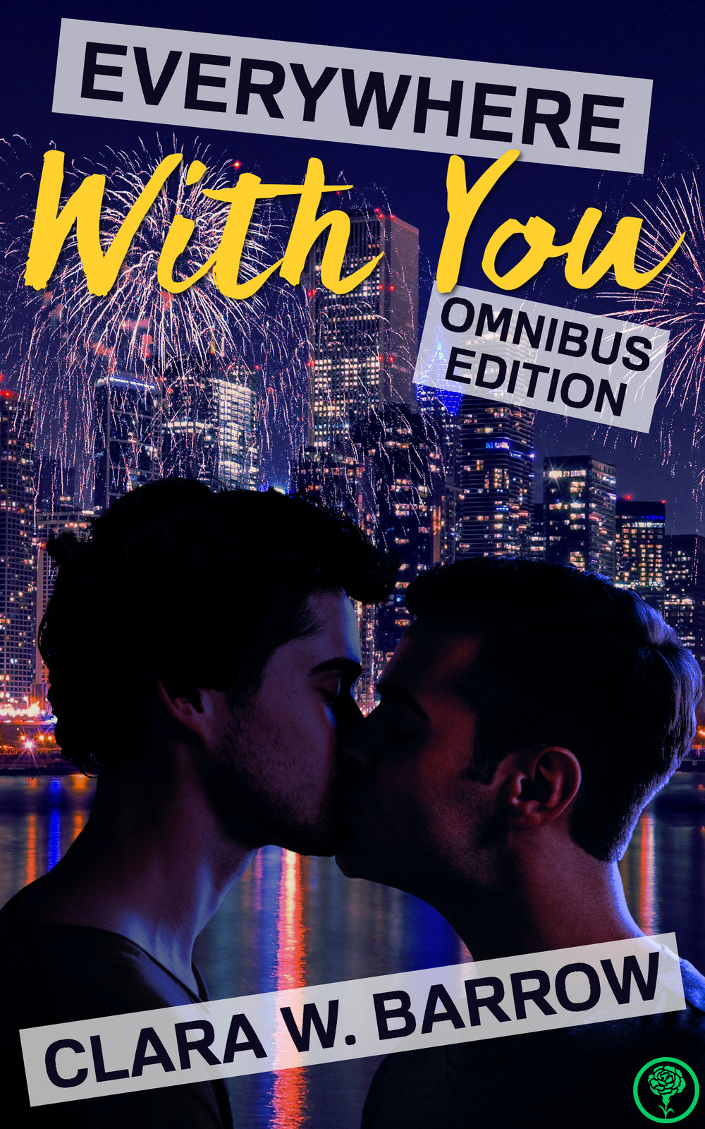 """Two steamy romances,one gorgeous paperback! - This omnibus collects two red-hot gay romance novels together for the first time.Everywhere With You (Omnibus Edition)contains the steamy full text of the friends-to-lovers romance novels Just Like That (Gone and Changed)and Everywhere with You, full of luxurious love scenes and the development of a heartwarming and healthy relationship.Plus, get the Kindle book for free when you buy the paperback version!What happens when you fall in love with your best friend?Introspective, sensitive Sam and loyal, kind-hearted Will are best friends who grew up together on neighboring farms. They've shared everything — until Sam leaves for college and shuts Will out of his life.Determined not to lose his best friend, Will confronts Sam at their favorite swimming hole and forces the situation to a passionate confrontation. That hot and steamy summer changes their lives forever.After an agonizing fall semester spent a thousand miles apart, they finally make it home for the holidays, but spending Christmas with their small-town families brings an unexpected set of challenges.An escape to nearby Chicago proves to be the perfect way to spend their first New Year's Eve together. As they grow their relationship against the backdrop of the Windy City's vibrant gay community and fall deeper in love, new experiences and new choices give them the most memorable experiences of their life together so far.But will the biggest obstacle in the way of their happiness be Sam himself?Experience the story of a lifelong friendship that transforms into a love unlike any other. Read the pair of erotic romance novels that reviewers are calling """"captivating,"""" """"uplifting,"""" """"tender,"""" """"sexy,"""" """"gorgeous,"""" and """"a romantic coming-of-age tale that will sweep you away,"""" and experience what it's like to fall in love for the very first time."""