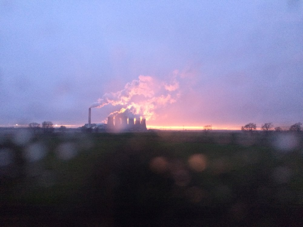 Even power stations can be beautiful in the right light.