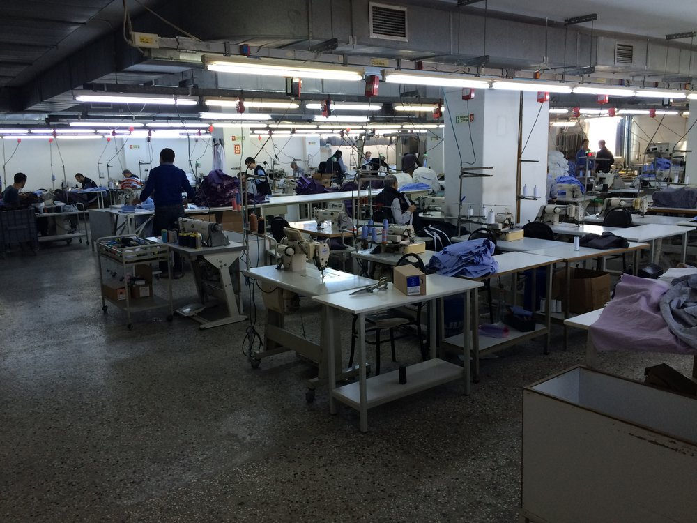 Turkish Clothing Factory
