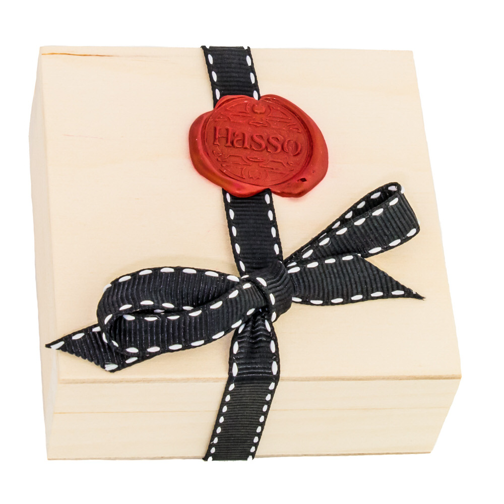 Our ethically sourced wooden cufflink presentation box