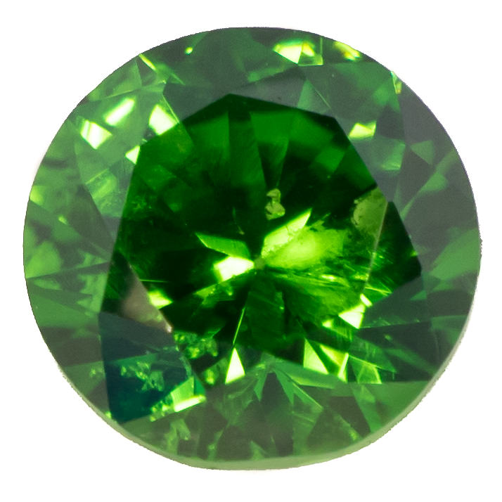 Created emeralds are usually much less included than natural emeralds.