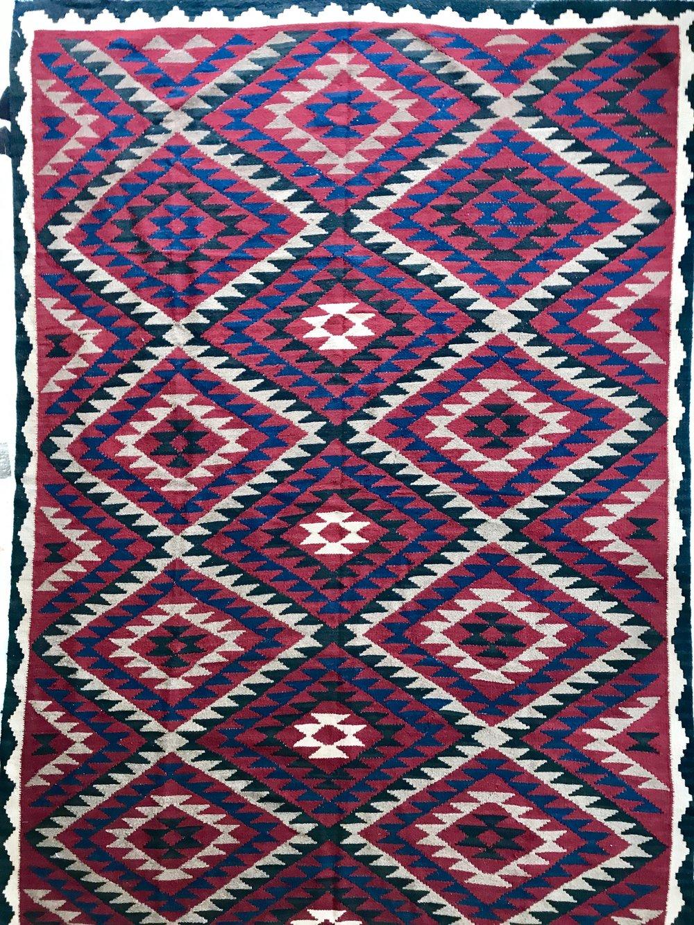 Afghan Maimana Kilim rug (285*198cm)