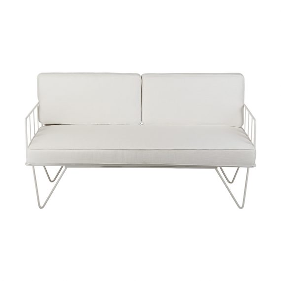 WIRE SOFA - WHITE