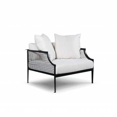 MESH ARMCHAIR - BLACK
