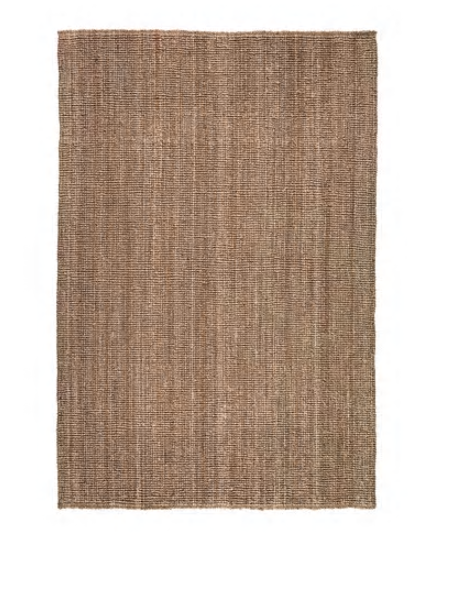 CHUNKY WEAVE JUTE RUG - NATURAL (1.6X2.3)