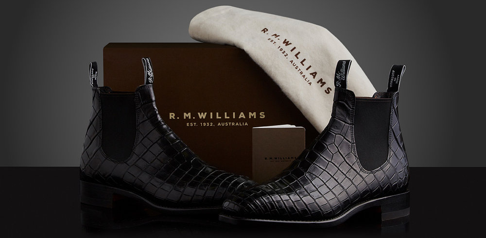 R.M Williams Bespoke service