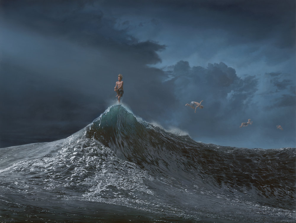 The Precision of Luck 92x122cm oil on canvas by JOEL REA.jpg