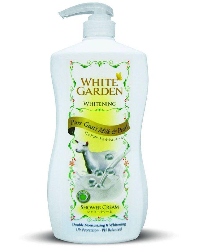 White Garden Shower Cream Pure Goats Milk Pearl PERTAMA Dan SATU SATUNYA Di Indonesia