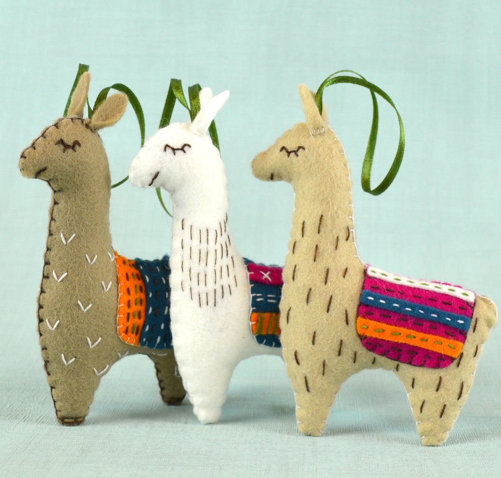 Corinne Lapierre - Award-winning brand of felt sewing kits for adults, manufactured in Yorkshire.