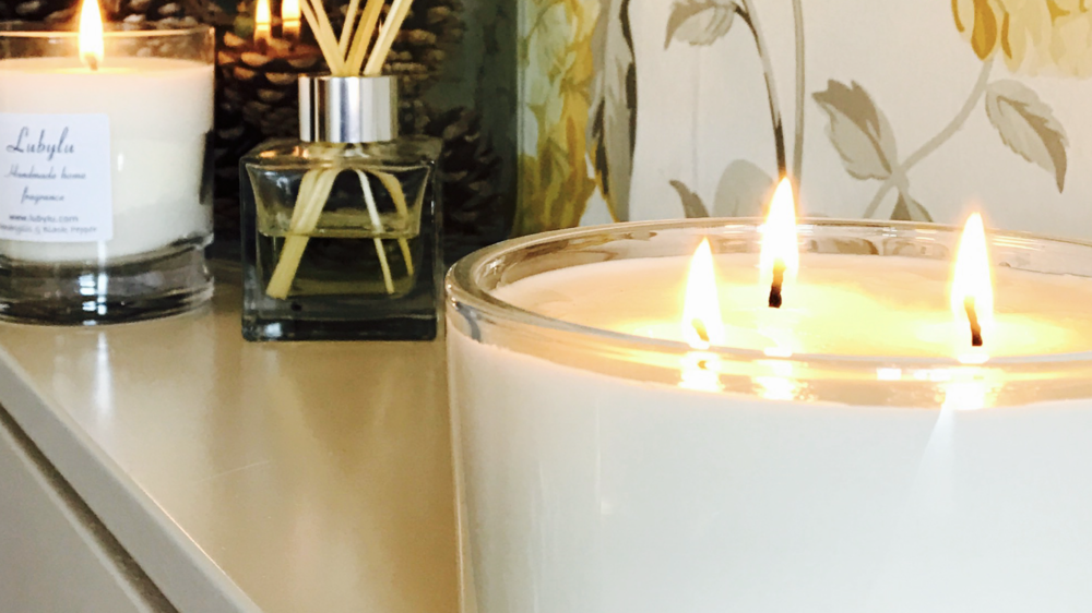 Lubylu  - Handmade home fragrance creations designed to scent your home and your life to inspire and revive, relax and invigorate.