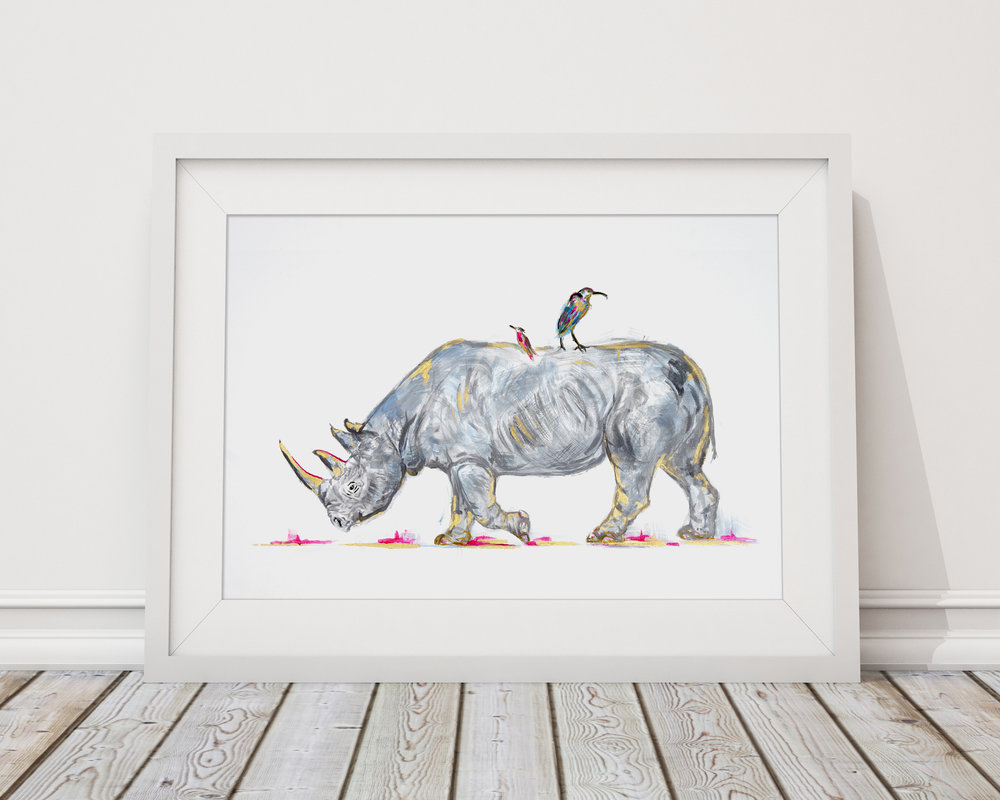 Samantha Ward Art - Samantha's artistic ability has always come naturally through her passion for colour and love of imagination. She is inspired by colour, shapes and personalities of nature, from animals and plants to fruits and vegetables.