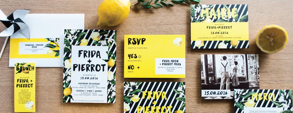 Mister M StudioPierrot Invite en collaboration avec Make My Lemonade.