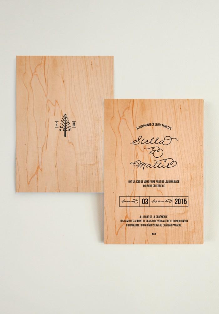 Ruban Collectif Love in da wood