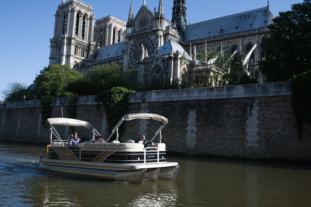 Green river cruises: Une croisière romantique sur la Seine