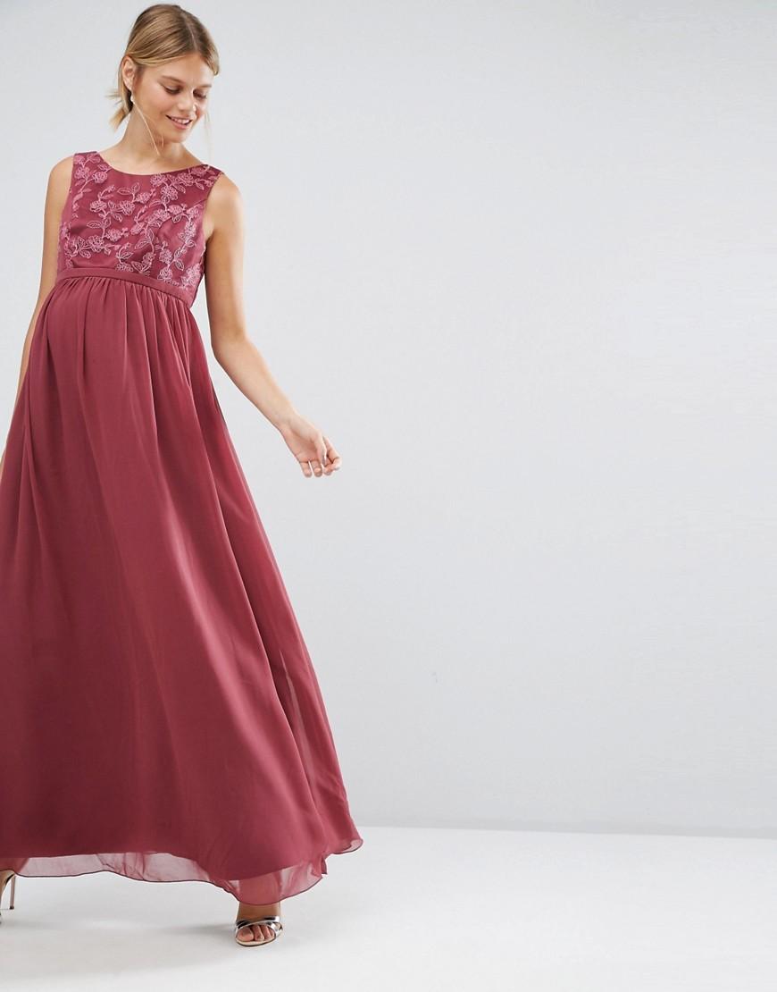 robe maternité brodée 34,99 €