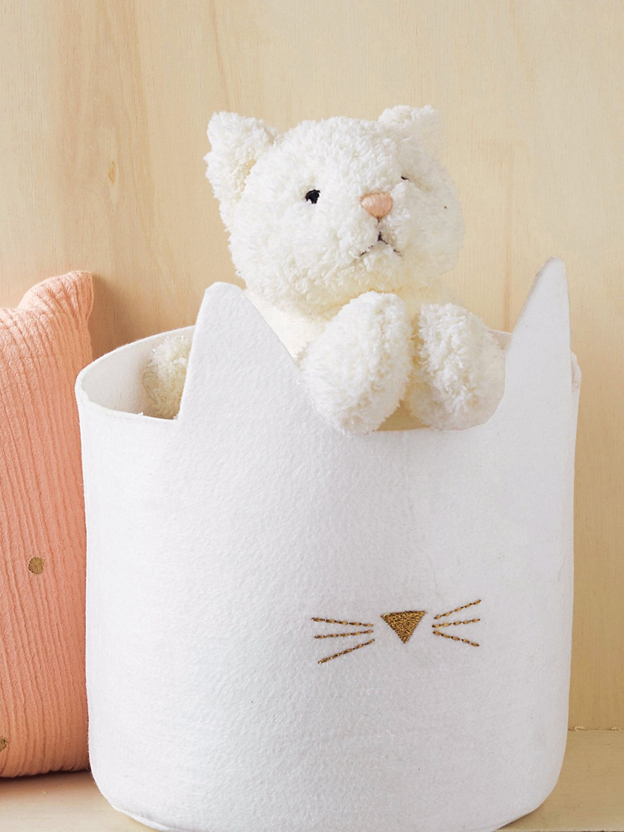 peluche chaton cyrillus 19,90€