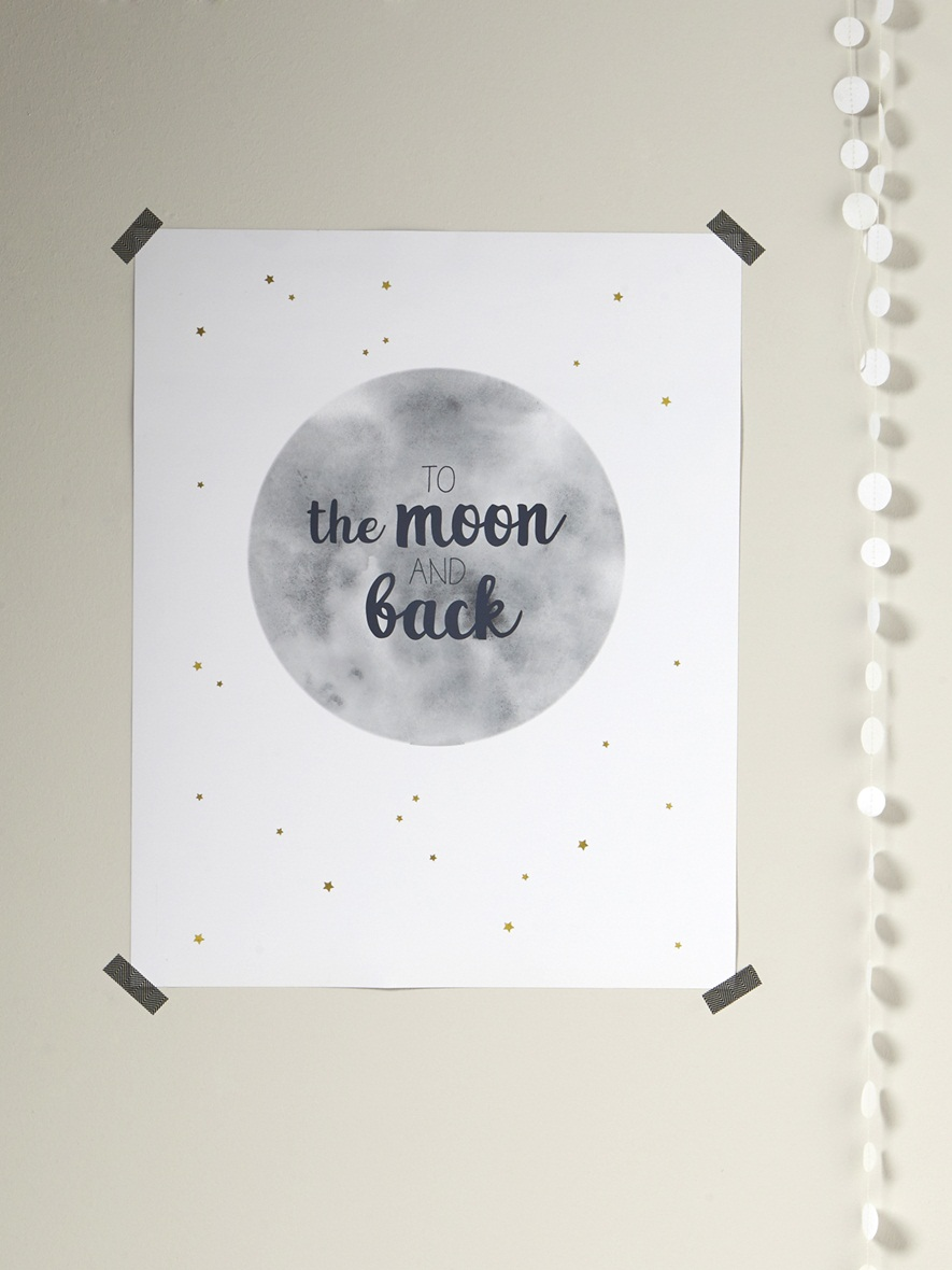 affiche to the moon 24,90€