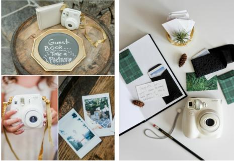 Vu sur  Wedding Chicks et   A Fabulous Fete Blog
