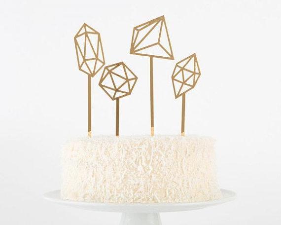 CAKE TOPPER formes géométriques 36,93 €