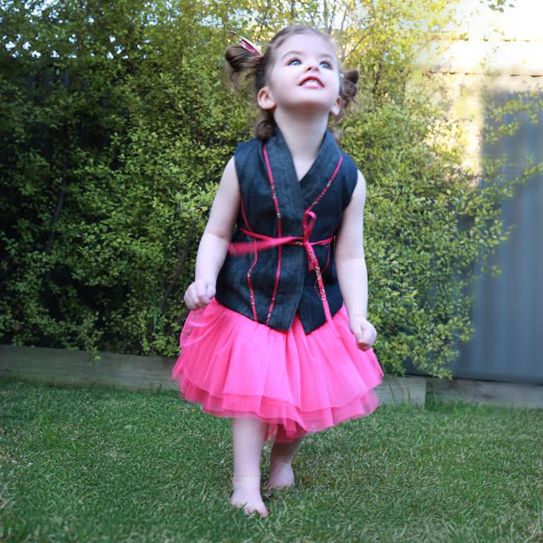 Cargie Threads - Miss Charlotte with delight