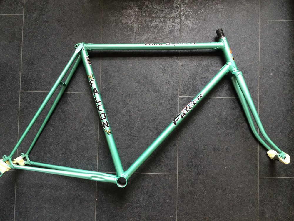 The Falcon frame looking like new