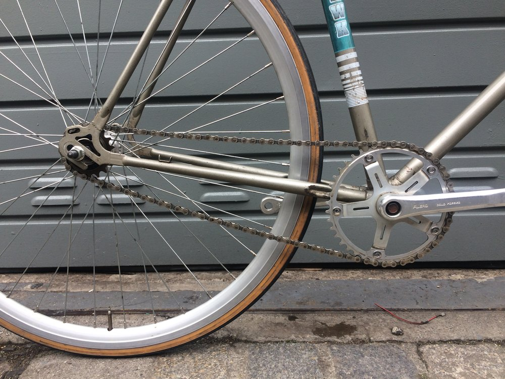 Converting to single speed makes care and maintenance much easier