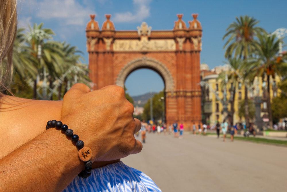 Followband Custom Coordinate Bracelet Barcelona Black Sea