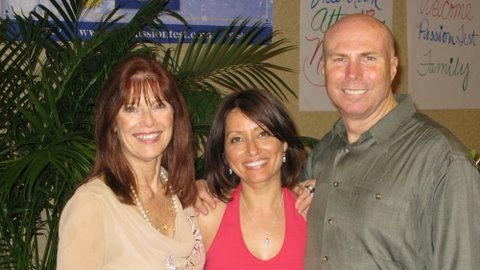 Chris and Janet Attwood with me in Miami in 2006
