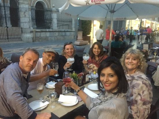 group dinner in cartagena port .jpg