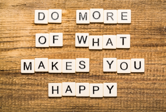 Do more of what makes you happy - Passion Test Workshop, Work/life balance