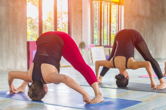 Prasarita Padttanasana, Yoga class at the The Healers Grove, Gerrards Cross G.jpg