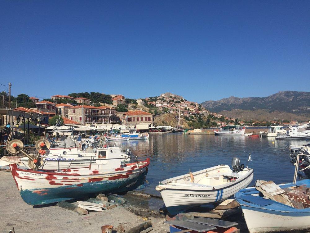Molyvos harbour - Lesbos retreat