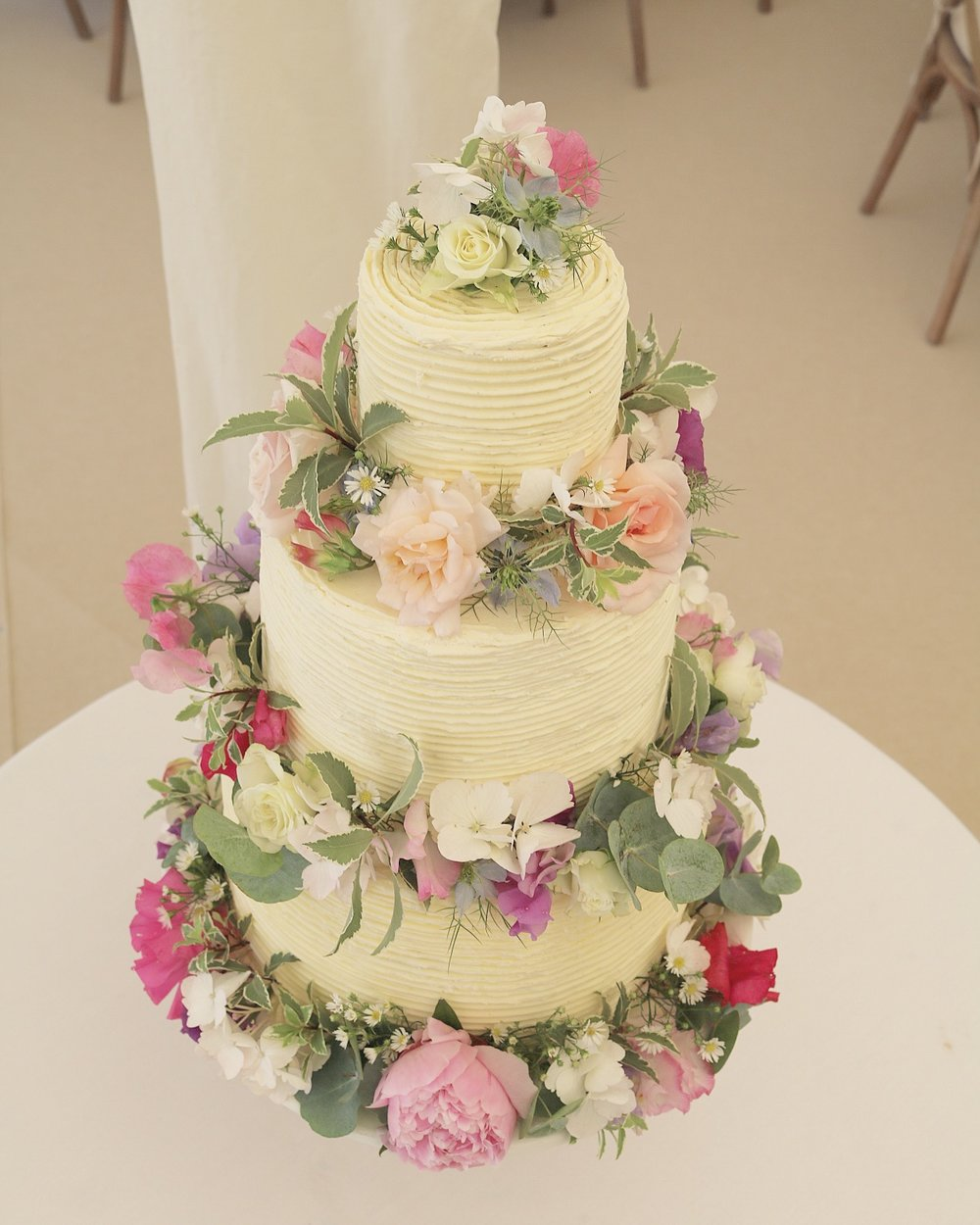 Wedding Cakes — THE HAZLEBURY KITCHEN