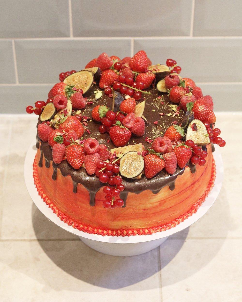 Fire Cake!