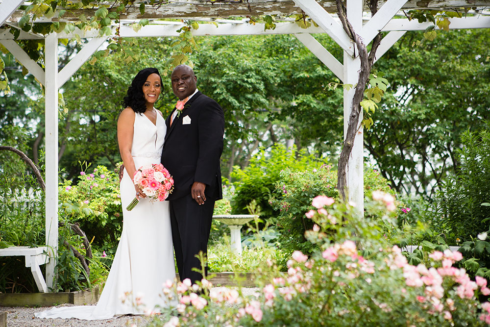 Alexis + Casey - A local news anchor ties the knot in Maumee, Ohio with a simple, classy wedding held in June.