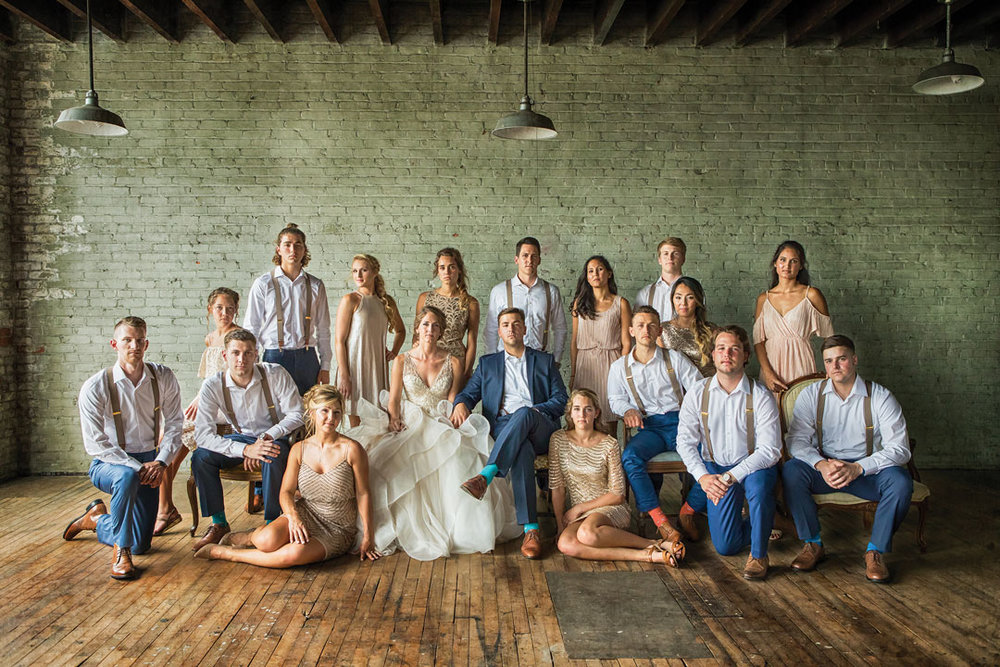 Lucinda + Ryan - This bridal party's killer looks is all that needs to be said!