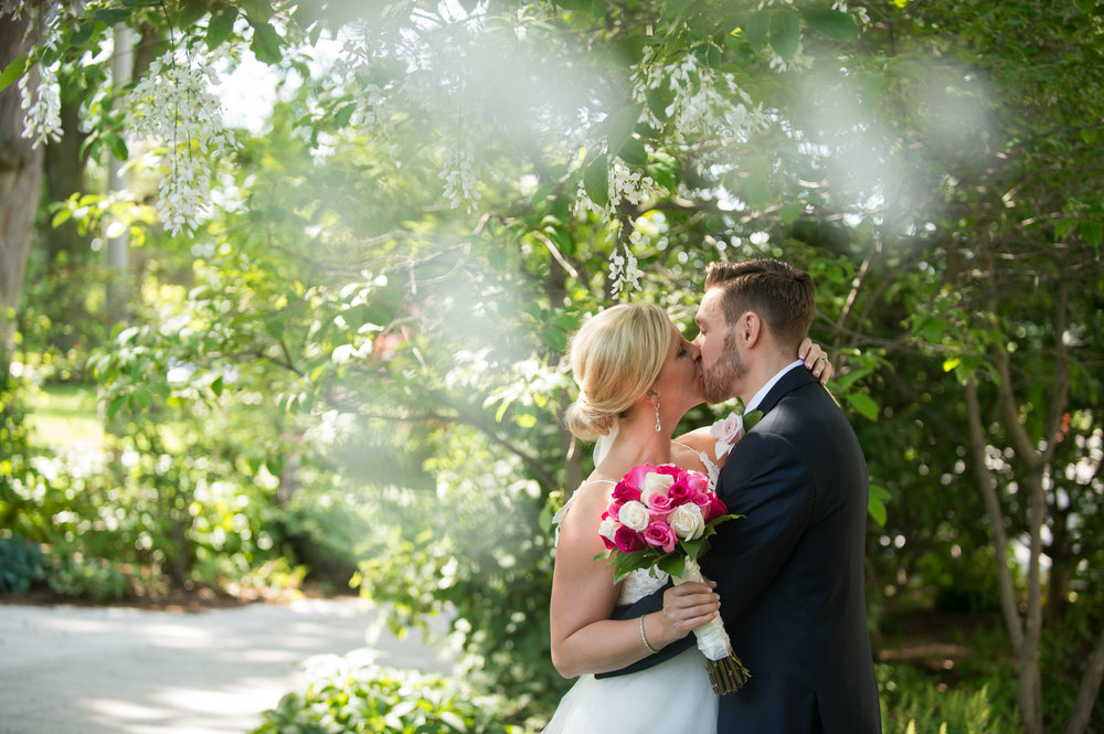 Tighe + Chris - We always swoon over a bride wearing a Hayley Paige dress, and this one does not disappoint!