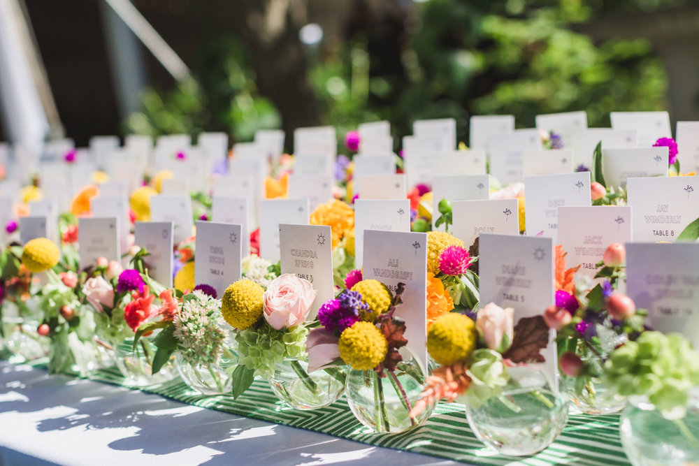 Escort Cards vs. Place Cards vs. Seating Charts - What's the Difference? // Toledo Wedding Guide