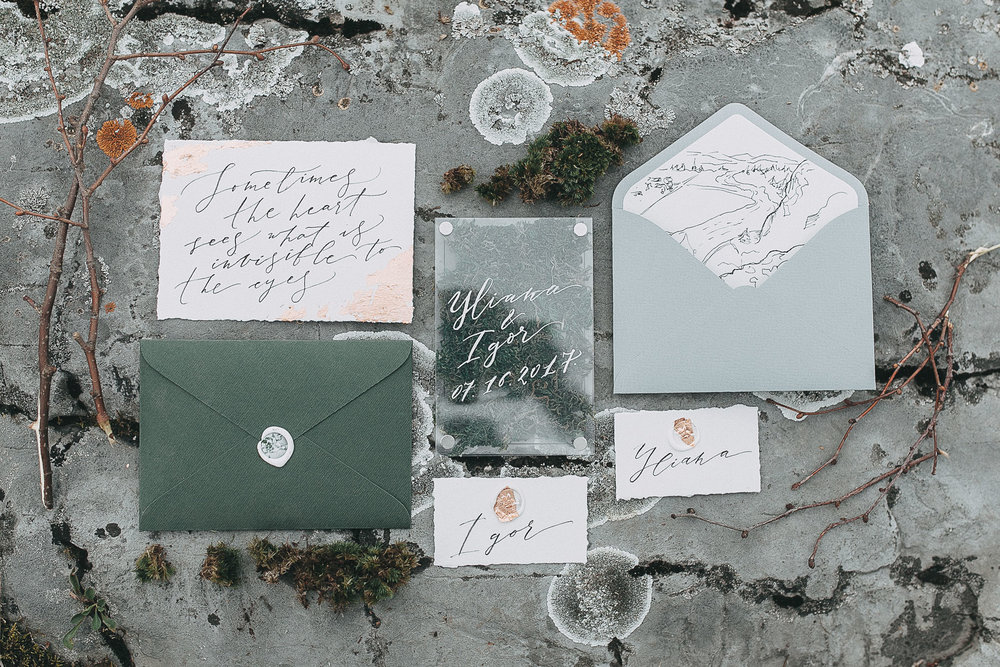 Make Your Wedding Extraordinary with Calligraphy // Toledo Wedding Guide