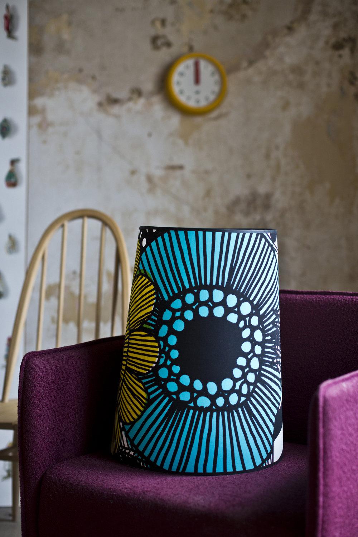Designer fabric lampshades