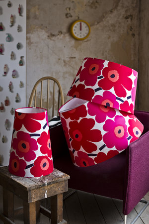 Designer lampshades by feature lighting feature lighting marimekko lampshades aloadofball Image collections