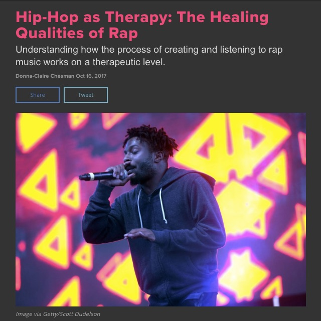 Pictured above, Isaiah Rashad, whose story you can read about in the  the full article .