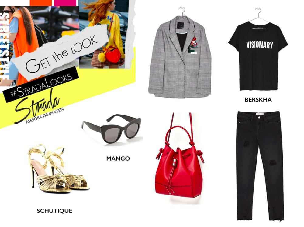 Jeans y Bolso: Zara