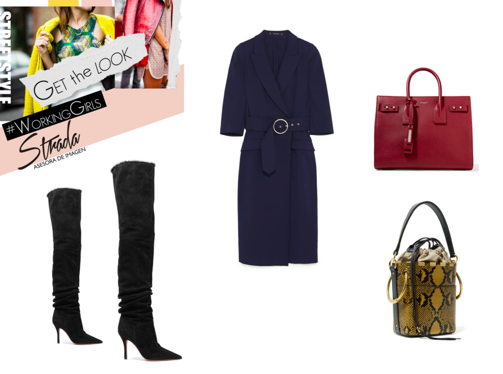 BOOTS - STEVE MADDEN  DRESS - ZARA  COAT & EARRINGS  - NET APORTET