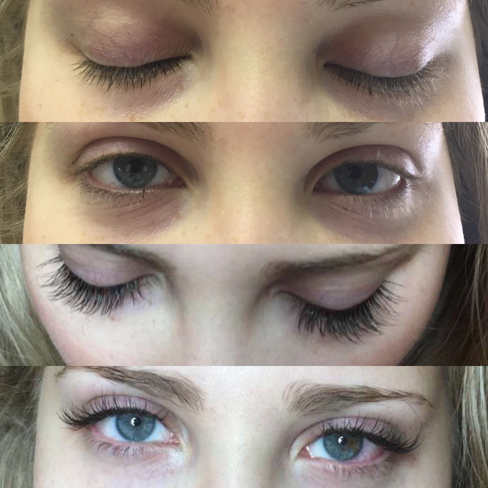 Swoon Aesthetic Spa - Before and After Eyelash 1