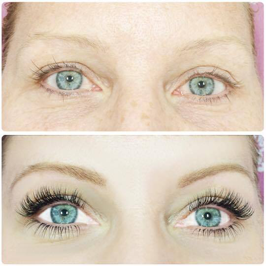 Swoon Aesthetic Spa - Before and After Eyelash 4